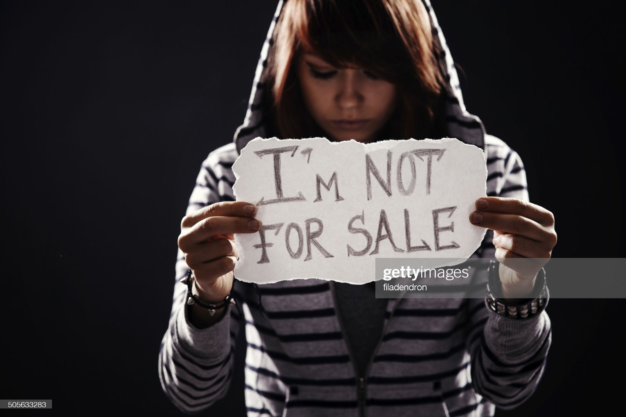 human trafficking : Stock Photo