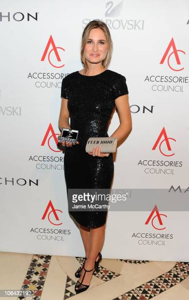 Humanitarian Award winner for FEED Project Lauren Bush attends the 14th Annual ACE Awards presented by the Accessories Council at Cipriani 42nd...