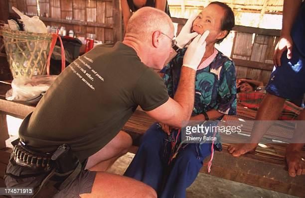Humanitarian commandos Karen State American Dentist Shannon Allison is treating refugees in Burma