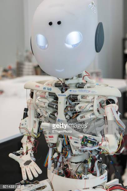 roboy humanoid robot - roboy stock pictures, royalty-free photos & images