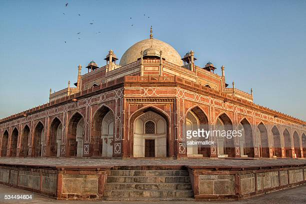 humayun tomb, delhi-india - humayun's tomb stock pictures, royalty-free photos & images