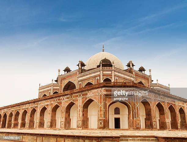 humayun's tomb, dehli, india - monument stock pictures, royalty-free photos & images