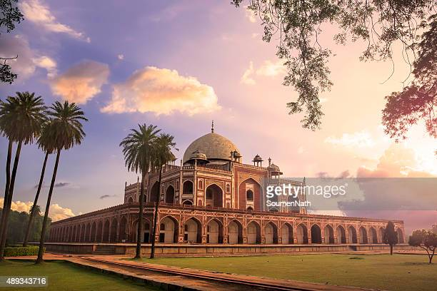 humayun's tomb, delhi, india - cngltrv1109 - delhi stock pictures, royalty-free photos & images