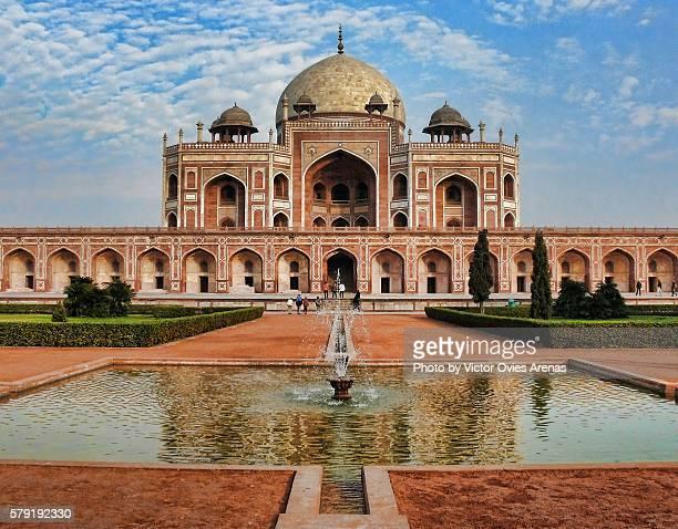 humayun's tomb in delhi, india - victor ovies fotografías e imágenes de stock