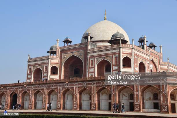 Humayun's tomb is the tomb of the Mughal Emperor Humayun in New Delhi India The tomb was commissioned by Humayun's first wife and chief consort...