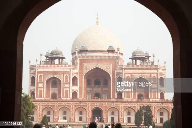 humayun's tomb  new delhi - fotofojanini foto e immagini stock