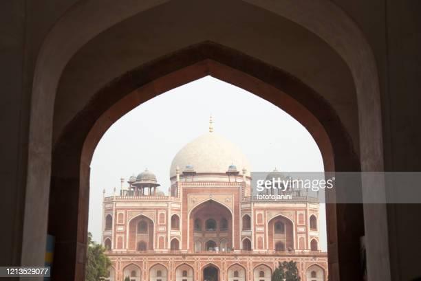 humayun's tomb palace in  delhi - fotofojanini foto e immagini stock