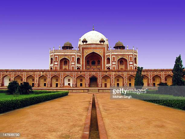 humayun's tomb - humayun's tomb stock pictures, royalty-free photos & images