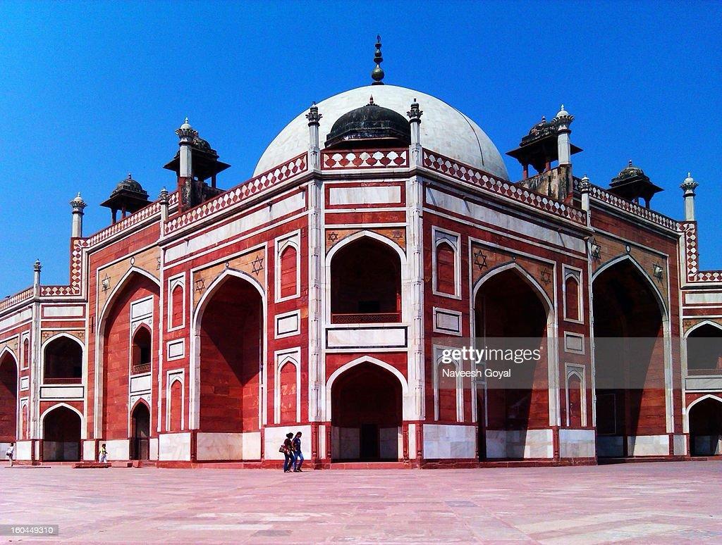Humayun's Tomb : Stock Photo