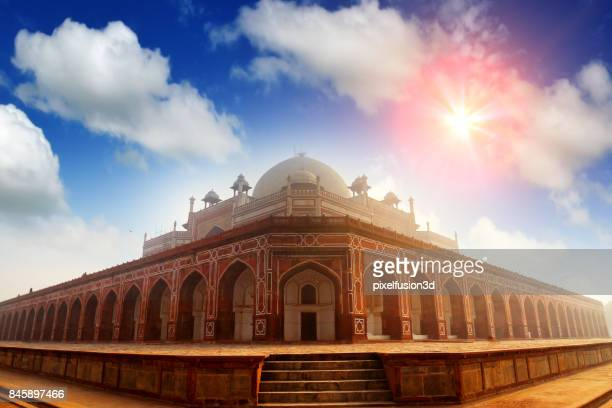humayuns tomb - humayun's tomb stock pictures, royalty-free photos & images
