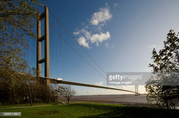 Humber Bridge East Riding of Yorkshire/North Lincolnshire 2009 General view of the bridge Opened to traffic in 1981 this single span suspension...