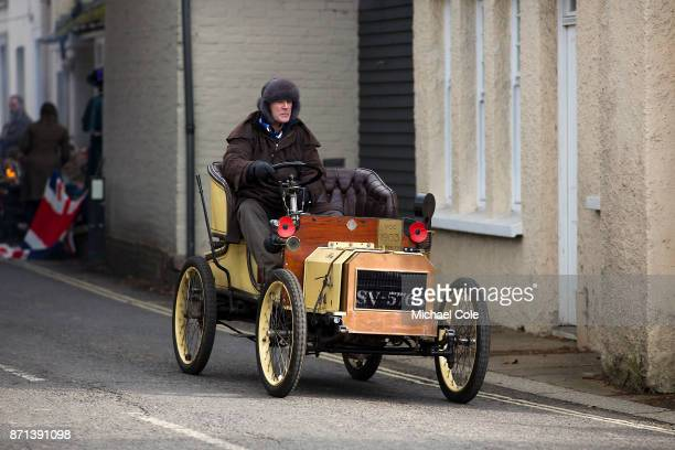 Humberette entered by Henry Brooks driven by AJD Henry Brooks during the 121st London To Brighton Veteran Car Run on November 5 2017 in Cuckfield...