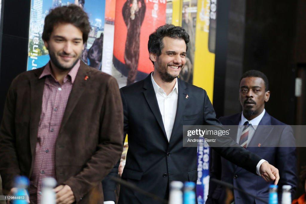 "DEU: ""Marighella"" Press Conference - 69th Berlinale International Film Festival"