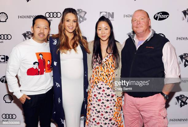 Humberto Leon Jessica Alba Carol Lim and Mario Batali attend Passion Play How Jessica Alba and Mario Batali Created Multichannel Marvels during the...