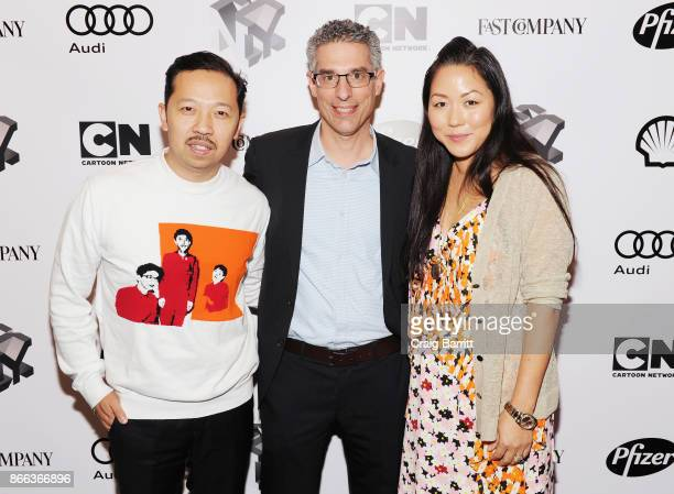 Humberto Leon Robert Safian and Carol Lim attend Passion Play How Jessica Alba and Mario Batali Created Multichannel Marvels during the Fast Company...