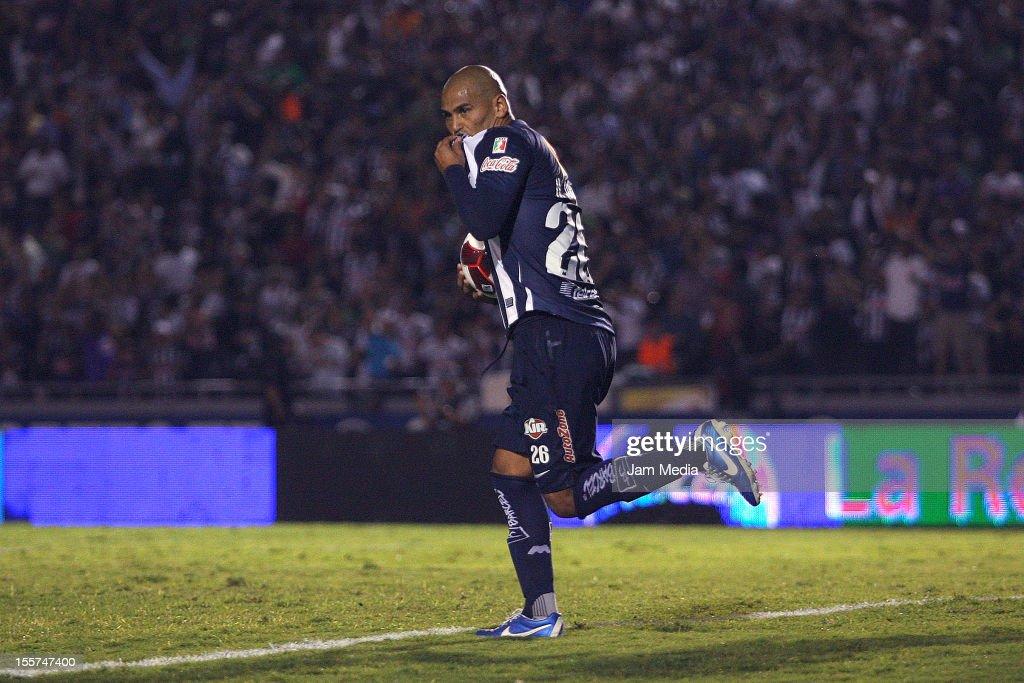MEX: Monterrey v Toluca - Apertura 2012