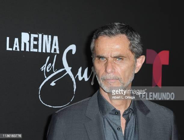 Humberto Zurita arrives for th LA Premiere Of Telemundo's La Reina Del Sur Season 2 held at Avalon Hollywood on April 9 2019 in Los Angeles California