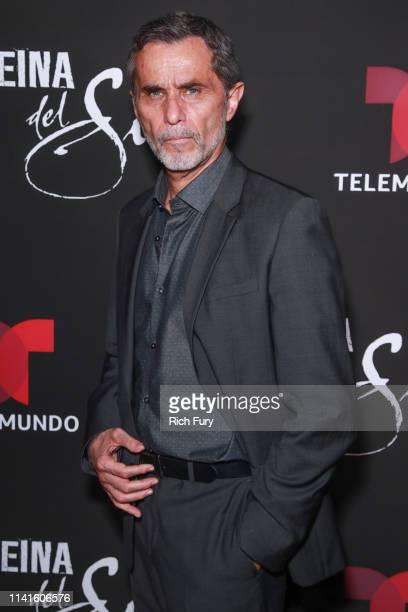 Humberto Zurita attends the LA premiere of Telemundo's La Reina Del Sur Season 2 at Avalon Hollywood on April 09 2019 in Los Angeles California