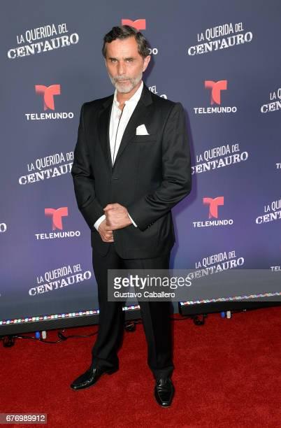 Humberto Zurita attends the Telemundo screening of La Querida Del Centauro on May 2 2017 in Coral Gables Florida