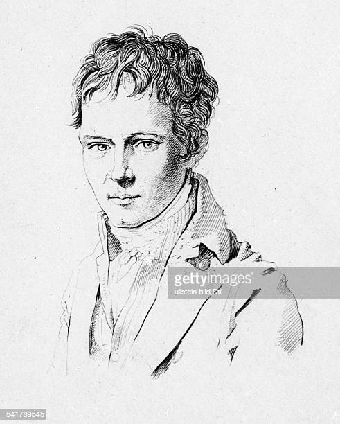 Humboldt Alexander von Naturalist Geographer Germany*1409176906051859Portrait as a very young man undatedVintage property of ullstein bild