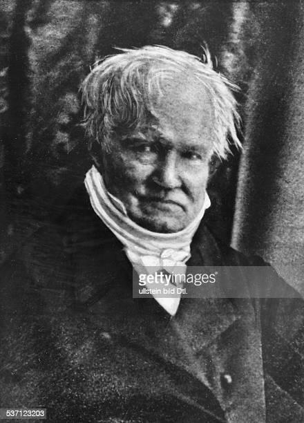 Humboldt Alexander von Naturforscher Geograph D Portrait Daguerrotypie 1841
