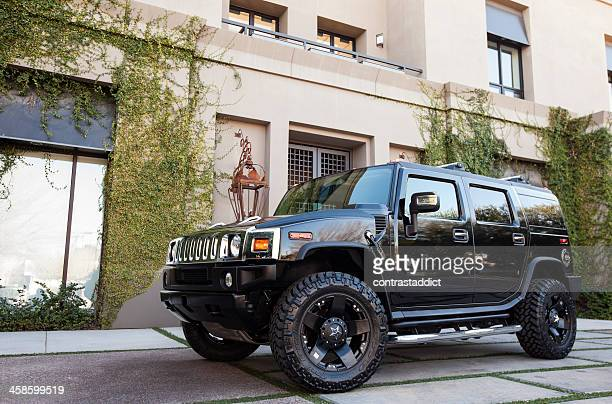 hummer h2 2007 - hummer stock photos and pictures