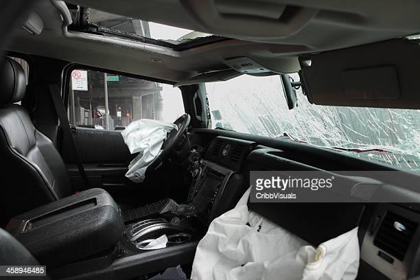 Hummer H2 car joy ride and crashed NYC