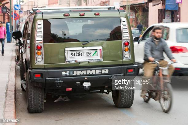 A Hummer in Marrakech, Morocco, North Africa.