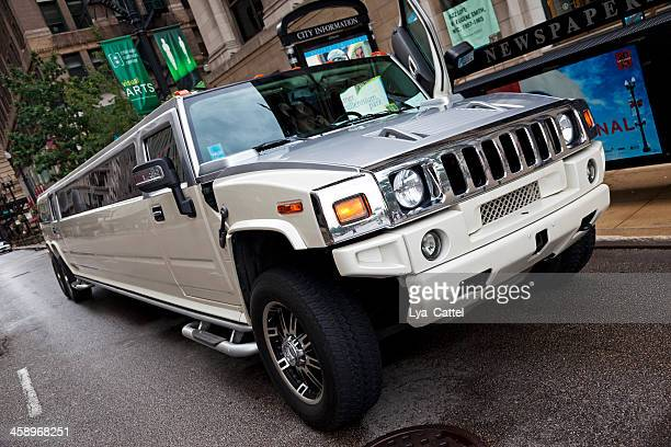 hummer limousine - hummer stock photos and pictures