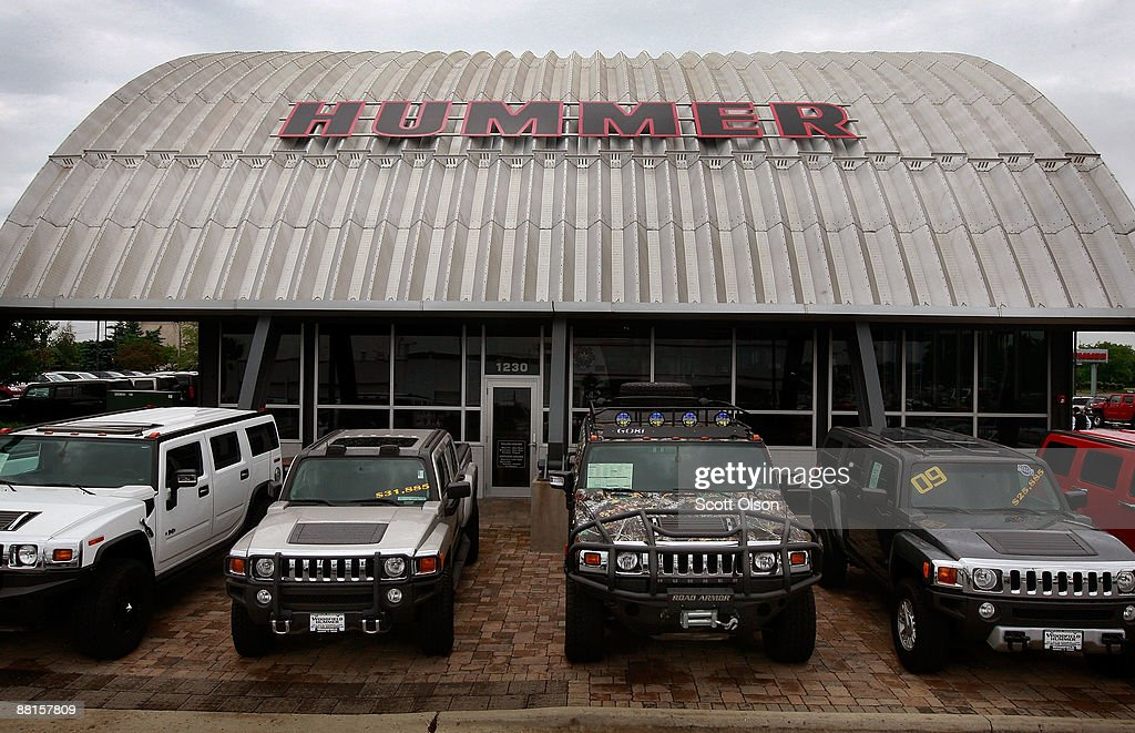 General Motors Reaches Tenative Agreement To Sell Hummer Brand : News Photo