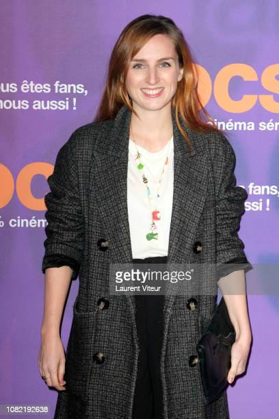 Humorist Alison Wheeler attends 'OCS 10th Anniversary' at Pavillon d'Armenonville on December 13 2018 in Paris France