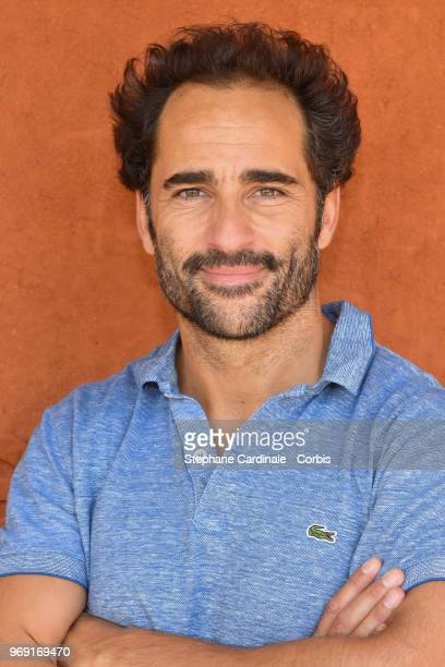 Humorist and actor Florent Peyre attends the 2018 French Open Day Twelve at Roland Garros on June 7 2018 in Paris France
