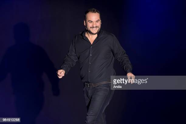 Humorist and comedian FrancoisXavier Demaison attending the festival 'Les Royal's du Rire' in MandelieulaNapoule on