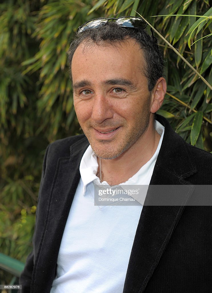 Humorist Elie Semoun attends The French Open 2009 at Roland Garros Stadium on June 7, 2009 in Paris, France.
