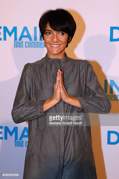 Humorist Florence Foresti attends the 'Demain Tout Commence' Paris Premiere at Cinema Le Grand Rex on November 28 2016 in Paris France