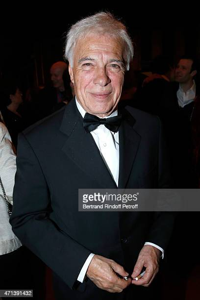 Humorist Guy Bedos attends the 27th 'Nuit Des Molieres' 2015 Held at Folies Bergere on April 27 2015 in Paris France