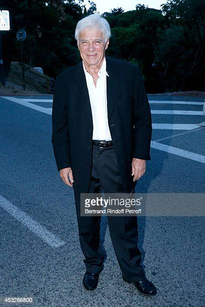 Humorist Guy Bedos attends the 30th Ramatuelle Festival Day 6 on August 6 2014 in Ramatuelle France