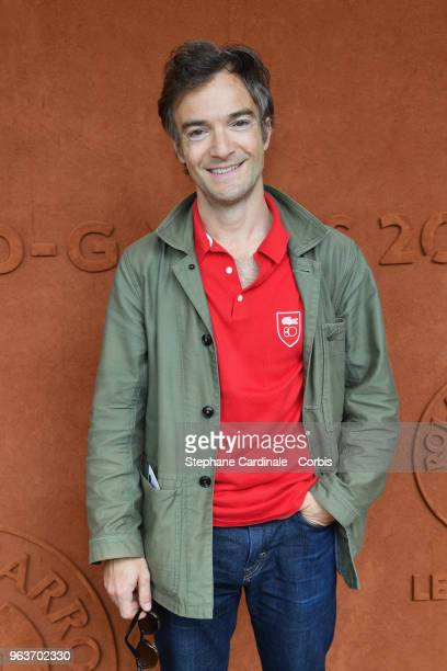 Humorist Jonathan Lambert attends the 2018 French Open Day Four at Roland Garros on May 30 2018 in Paris France