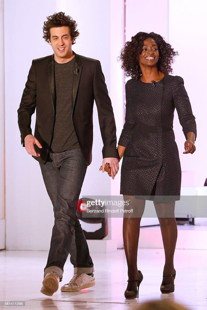 'Vivement Dimanche' French TV Show At Pavillon Gabriel In Paris : News Photo