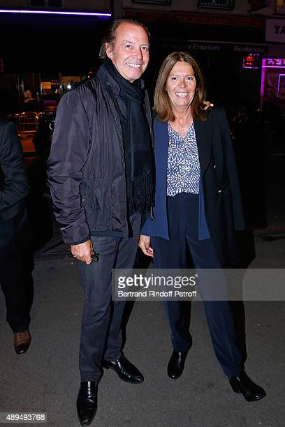 Humorist Michel Leeb and his wife Beatrice attend the 'Trophees du BienEtre' by Beautysane First Award Ceremony to Benefit 'Mimi Foundation' Held at...