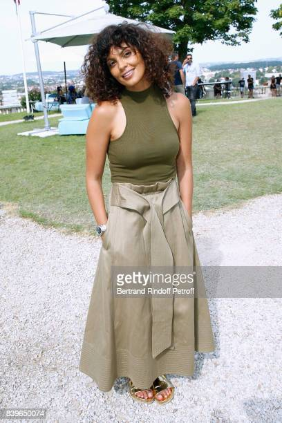 Humorist Nawell Madani attends the 10th Angouleme FrenchSpeaking Film Festival Day Five on August 26 2017 in Angouleme France