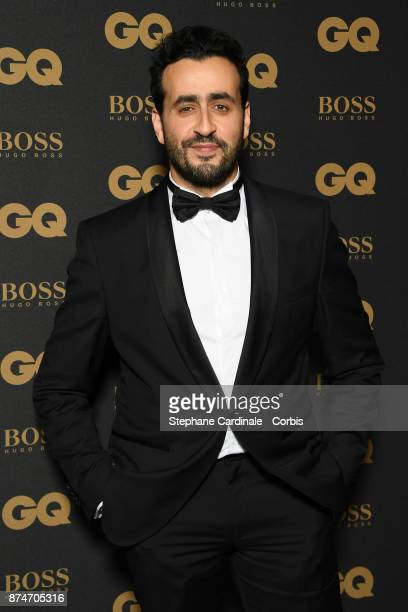 Humorist of the year Jonathan Cohen attends GQ Men Of The Year Awards 2017 at Le Trianon on November 15 2017 in Paris France