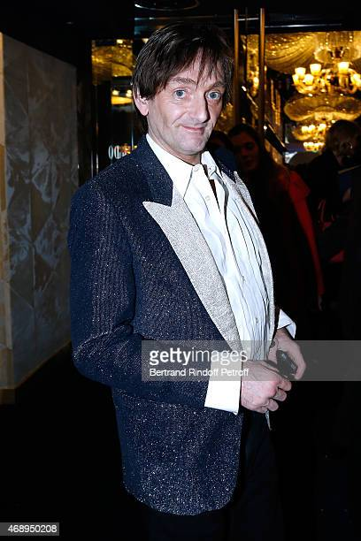 Humorist Pierre Palmade attends the 'Paris Merveilles' Lido New Revue Opening Gala on April 8 2015 in Paris France