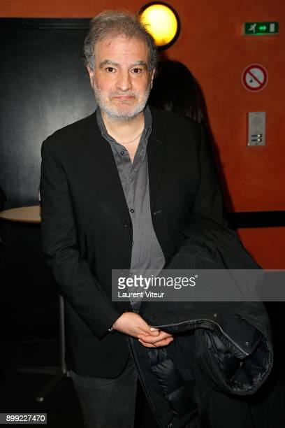 Humorist Raphael Mezrahi attends 'Laurent Gerra Sans Moderation' Show at L'Olympia on December 26 2017 in Paris France