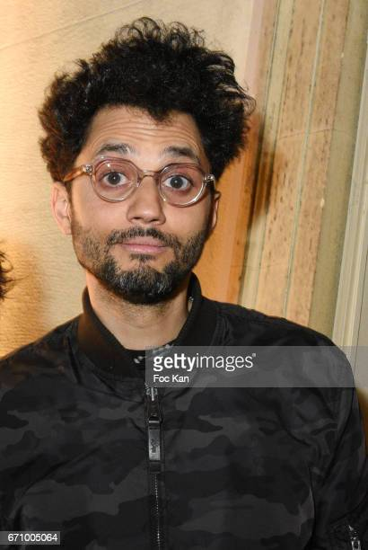 Humorist Tony Saint Laurent attends 'Tonic Follies' Villa Schweppes Before Cannes Festival Party at Foundation Mona Bismarck on April 20 2017 in...