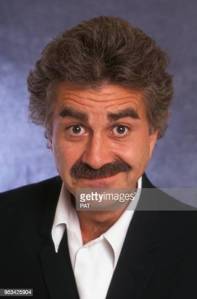 Humoriste Roland Magdane en septembre 1994 à Paris, France.