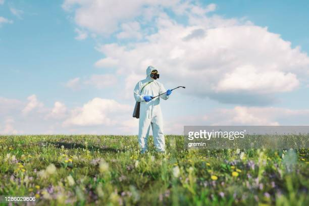 humorous disinfection of the wildlife plants - conspiracy stock pictures, royalty-free photos & images