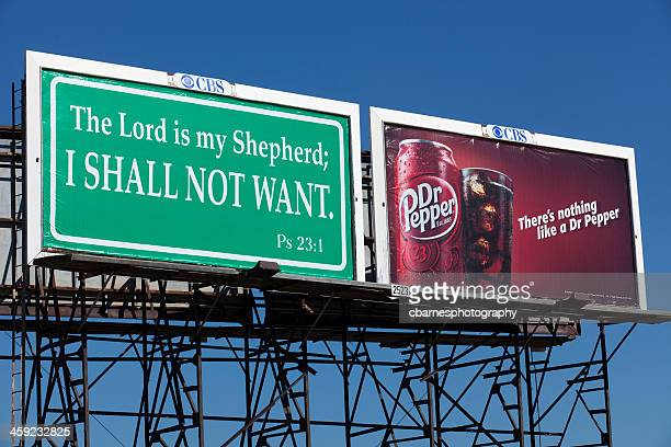 humorous psalm twenty three dr pepper billboard