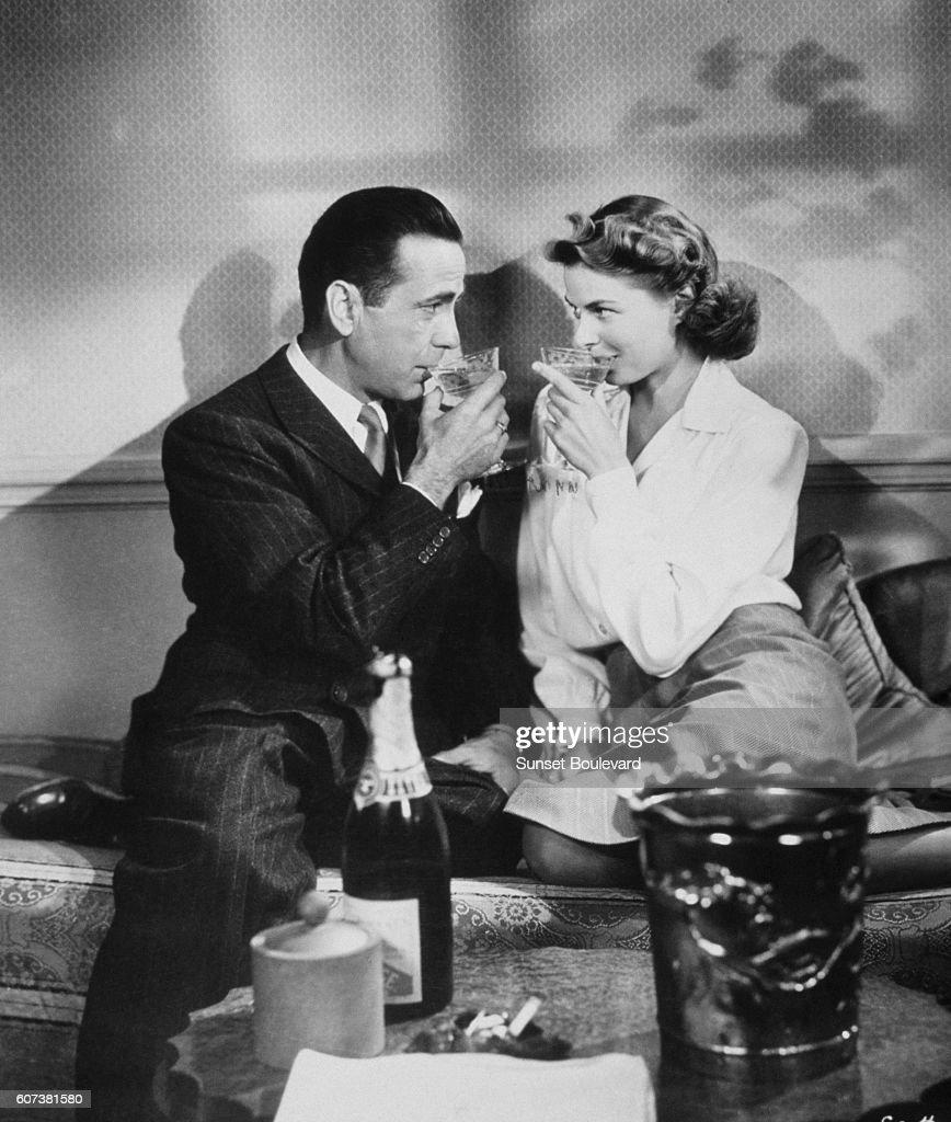 On the set of Casablanca : News Photo