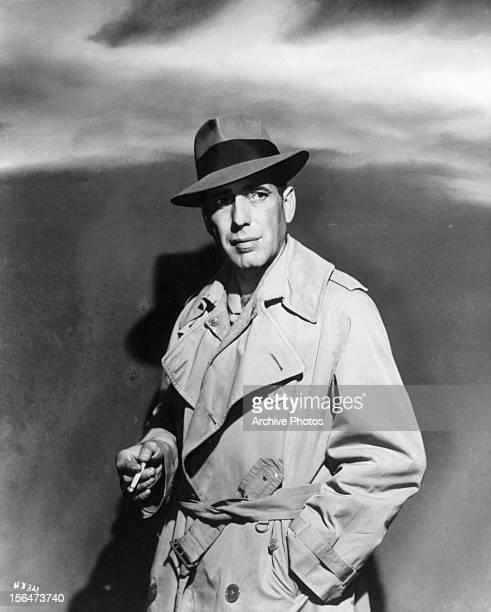 Humphrey Bogart publicity portrait for the film 'Conflict' 1945